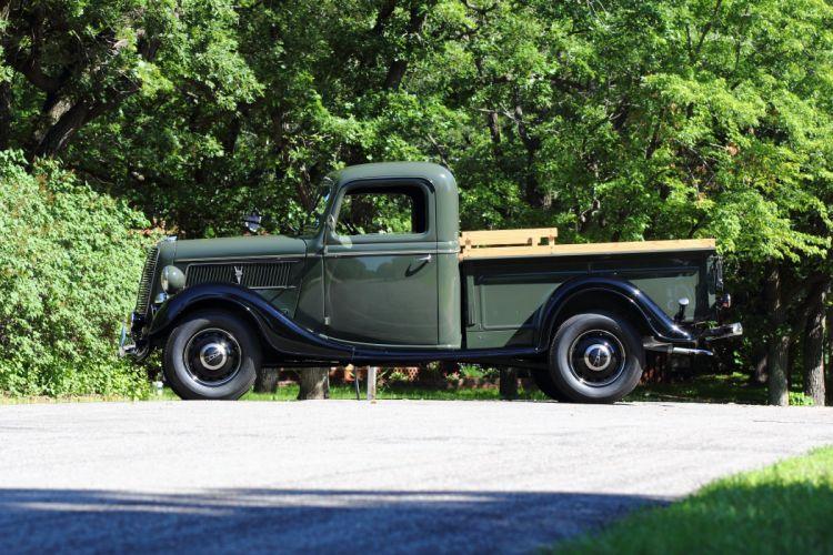 1937 Ford Pickup Classic USA d 5184x3456-03 wallpaper
