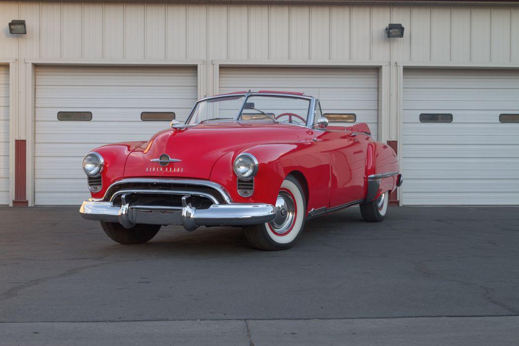1949 Oldsmobile Futuramic 98 1Convertible Classic USA d 5184x3456-01 wallpaper