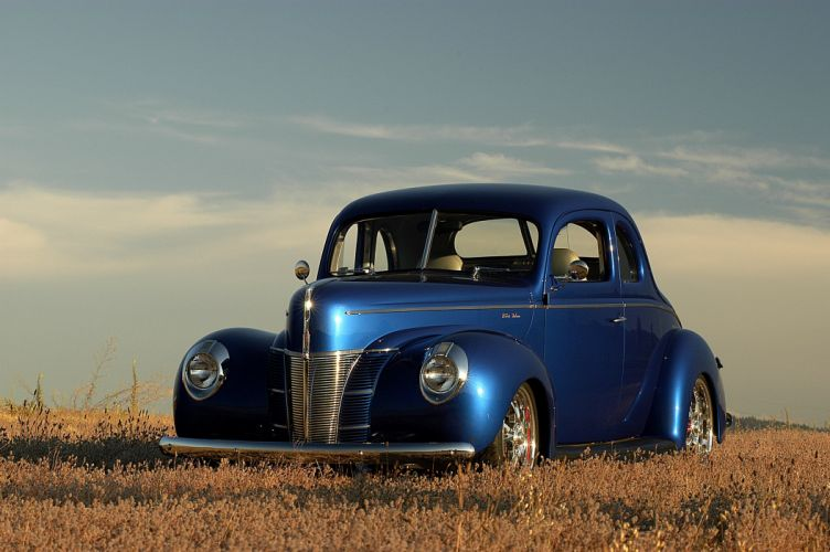 1940 Ford Deluxe Coupe Street Rod Streetrod Hot Rod Hotrod USA d 3008x2000-01 wallpaper
