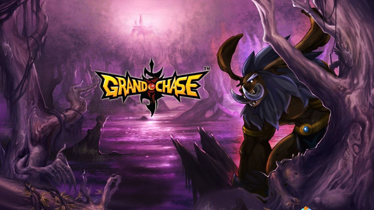 GRAND CHASE mmo rpg fantasy scrolling platform anime action fighting warrior 1gchase wallpaper
