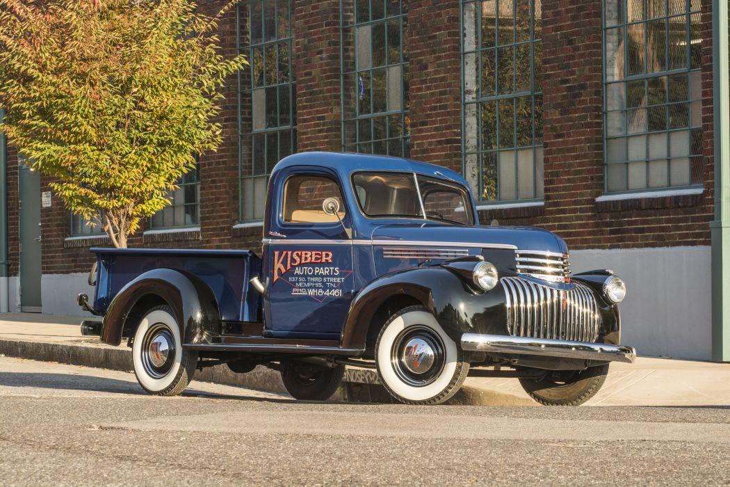 1941 Chevrolet AK Pickup Classic USA d 6000x4000-02 wallpaper
