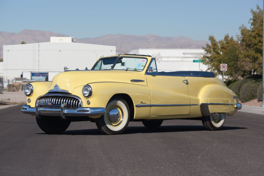 1948 Buick Super Convertible Classic USA d 5616x3744-02 wallpaper