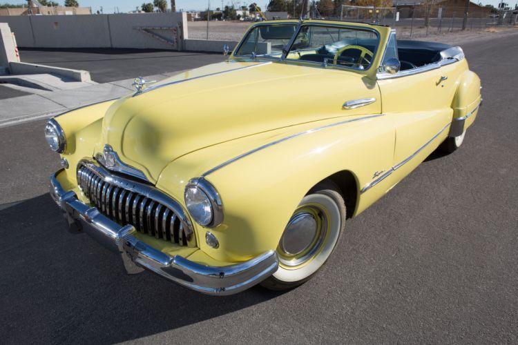 1948 Buick Super Convertible Classic USA d 5760x3840-01 wallpaper