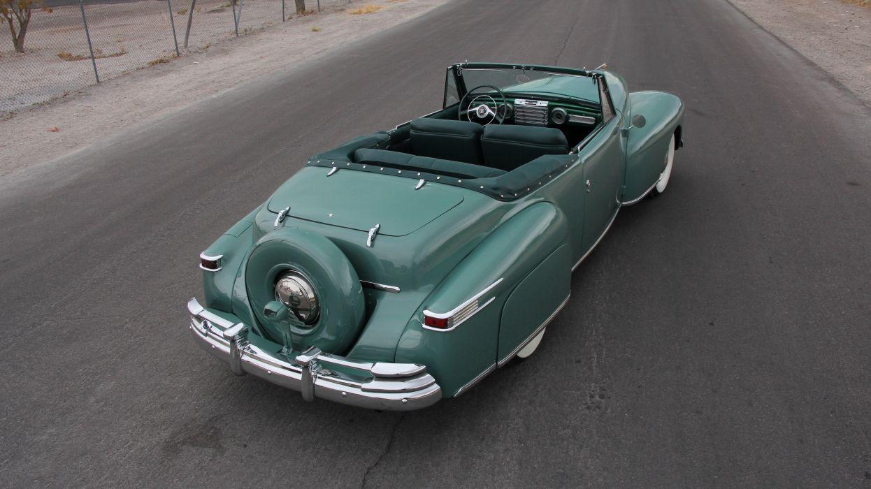 1948 Lincoln Continental Convertible Classic USA d 5184x2912-02 wallpaper