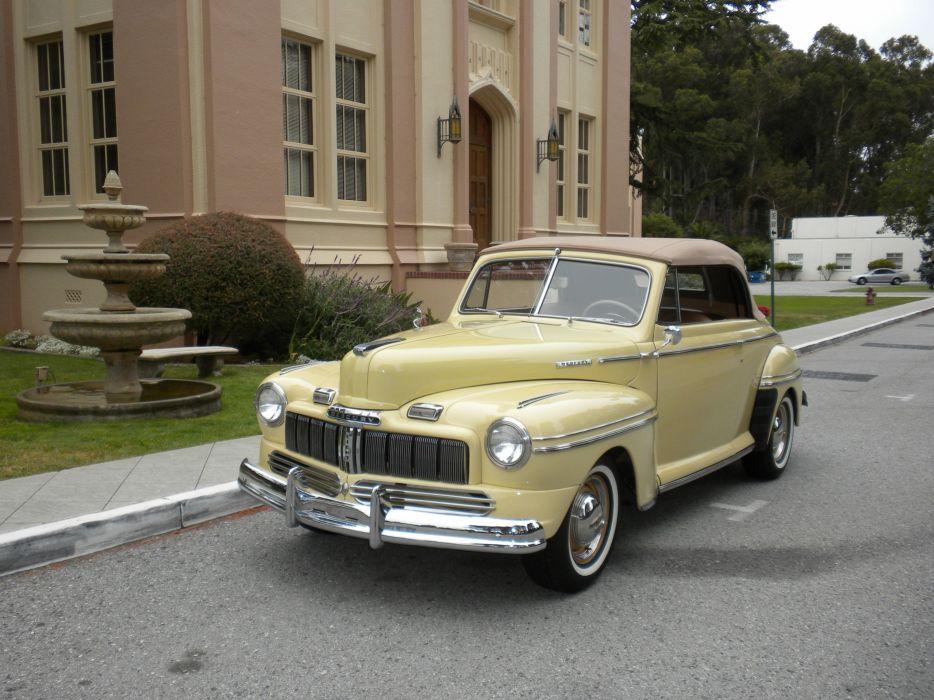 1948 Mercury Eight Convertible Classic USA d 4000x3000-05 wallpaper