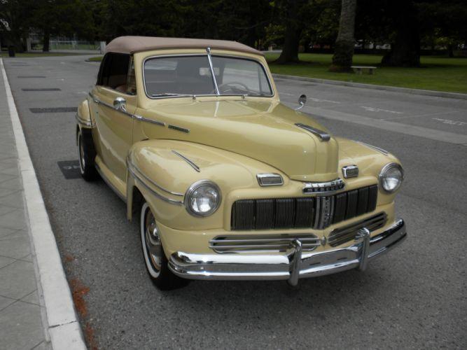1948 Mercury Eight Convertible Classic USA d 4000x3000-08 wallpaper