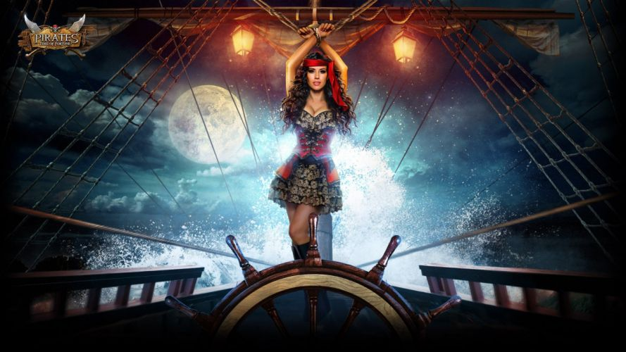 PIRATES TIDES Of FORTUNE strategy action fighting pirate 1ptf mmo rts online warrior wallpaper