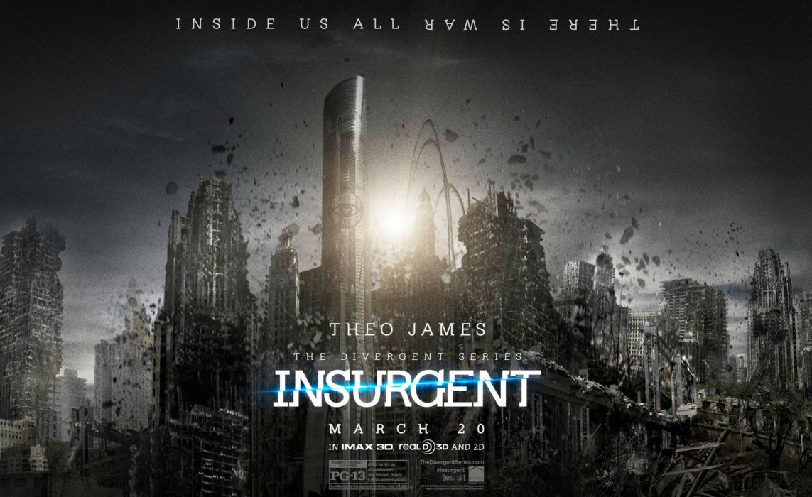 INSURGENT sci-fi adventure action divergent series 1insurgent poster wallpaper