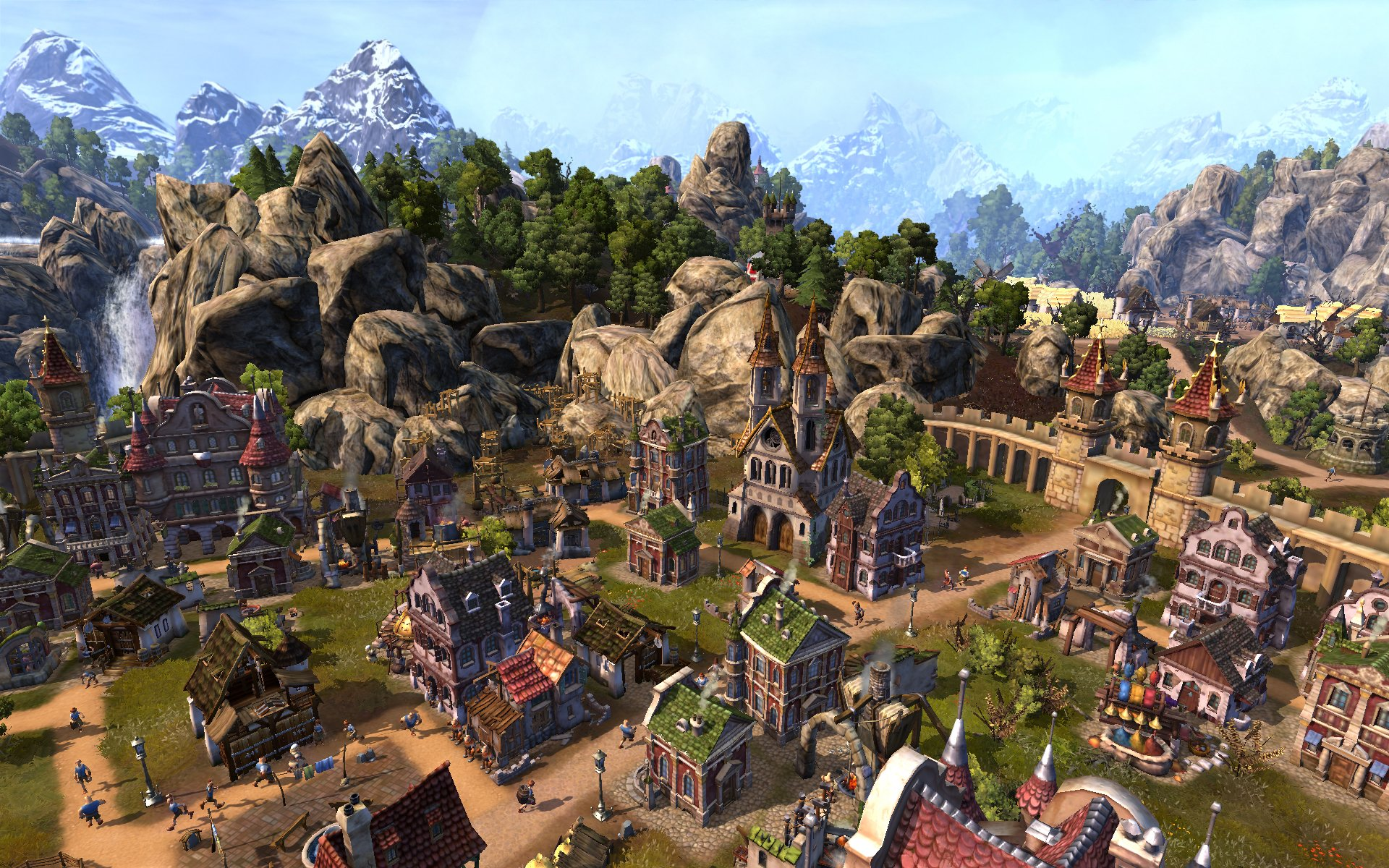 how to send marksman in settlers online
