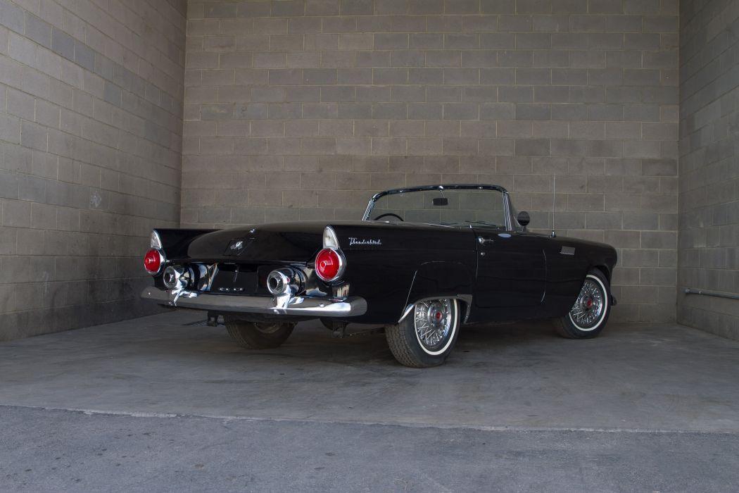 1955 Ford Thunderbird Convertible Classic USA d 5184x3456-05 wallpaper