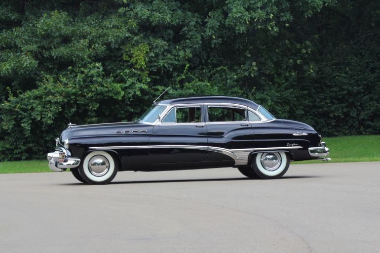 1950 Buick Roadmaster Dynaflow Sedan Classic d 5184x3456-02 wallpaper