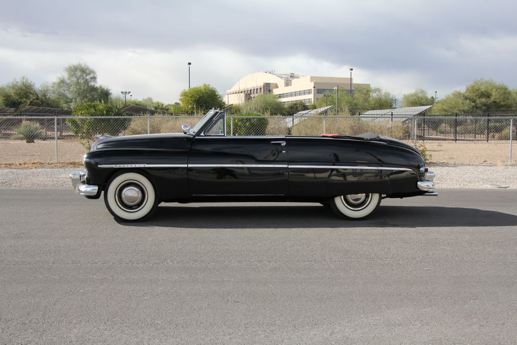 1950 Mercury Deluxe Convertible Classic USA d 5184x3456-04 wallpaper