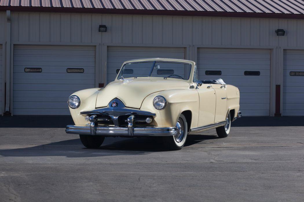 1951 Kaiser Frazer Manhattan Convertible Classic USA d 5616x3744-01 wallpaper