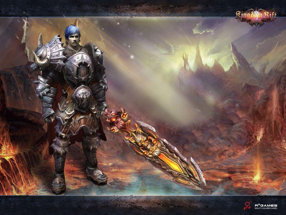 KINGDOM RIFT fantasy mmo rpg fighting action online quest adventure 1krift warrior poster wallpaper