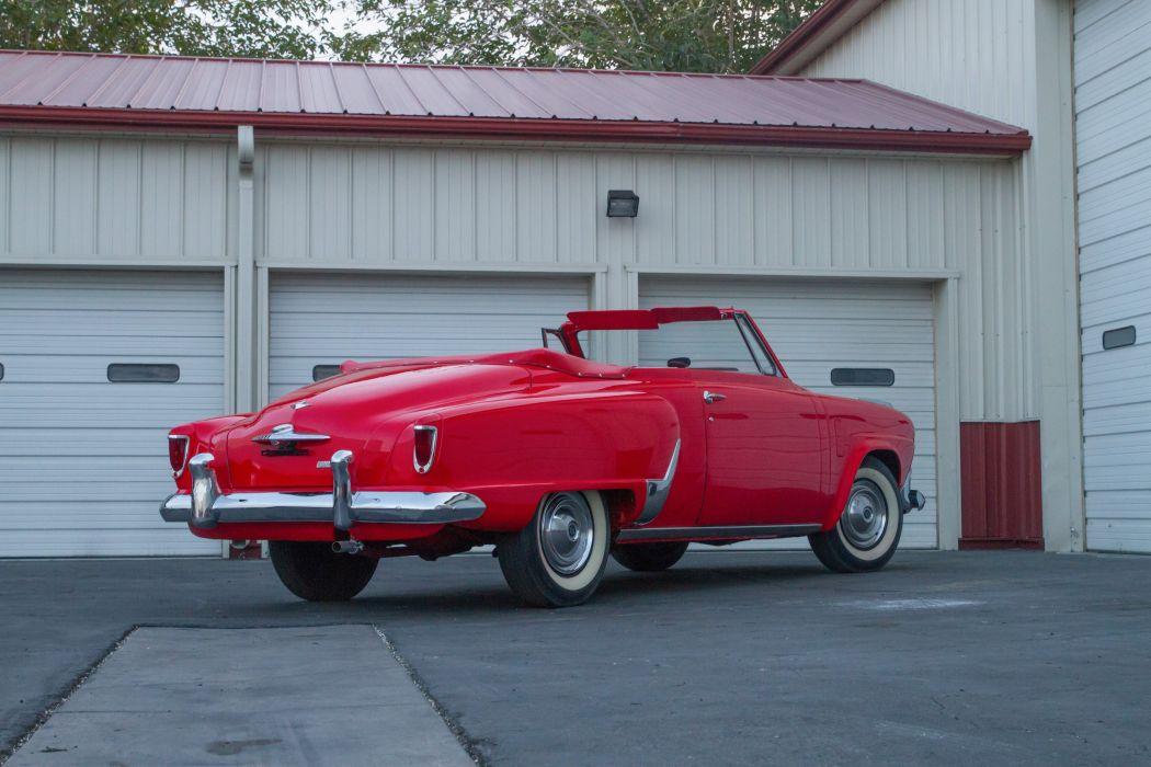 1952 Studebaker Commander Convertible Classic USA d 5014x3343-05 wallpaper