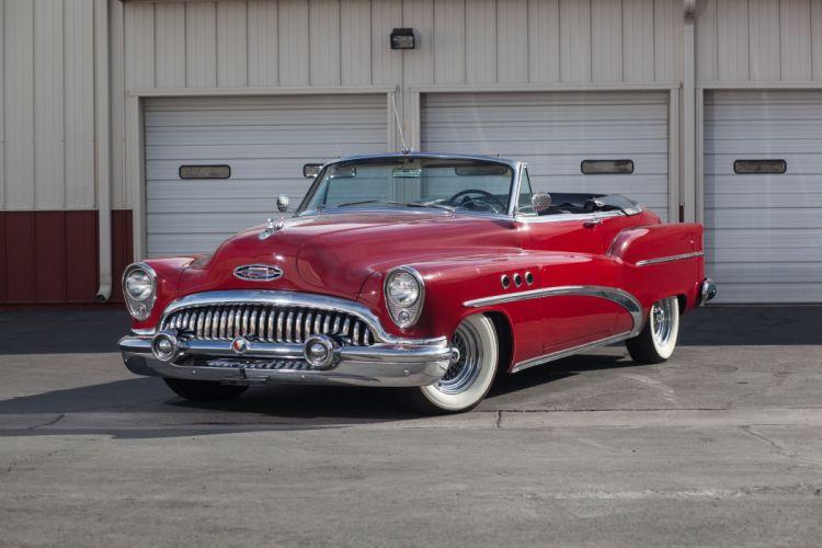 1953 Buick Eighr Super Convertible Classic USA d 5616x3744-01 wallpaper