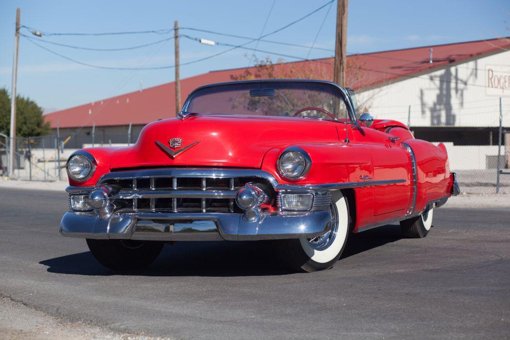 1953 Cadillac Eldorado Convertible Classic d 5616x3744-01 wallpaper