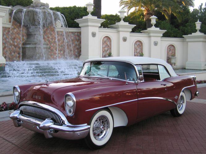 1954 Buick Skylark Convertible Classic USA d 2641x1981-05 wallpaper