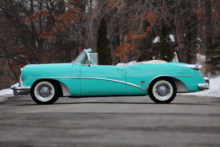 1954 Buick Skylark Convertible Classic USA d 5184x3456-02 wallpaper