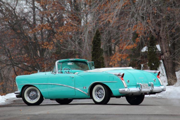 1954 Buick Skylark Convertible Classic USA d 5184x3456-01 wallpaper