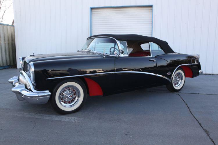 1954 Buick Skylark Convertible Classic USA d 5616x3744-09 wallpaper