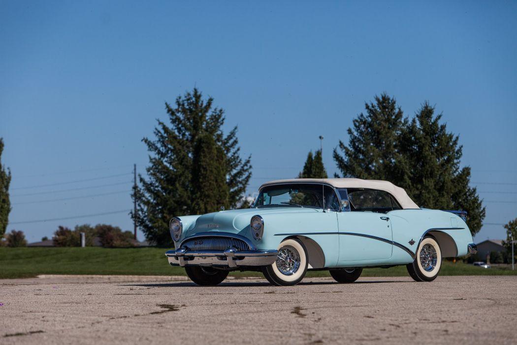 1954 Buick Skylark Convertible Classic USA d 5616x3744-11 wallpaper