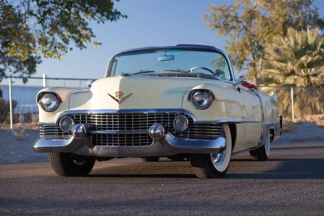 1954 Cadillac Eldorado Convertible Classic USA d 5202x3468-01 wallpaper