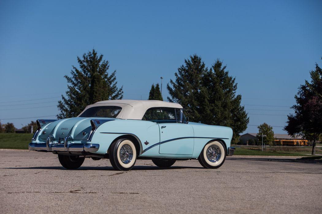 1954 Buick Skylark Convertible Classic USA d 5616x3744-16 wallpaper