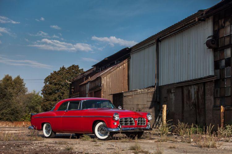 1955 Chrysler 300C Coupe Classic USA d 5616x3744-01 wallpaper