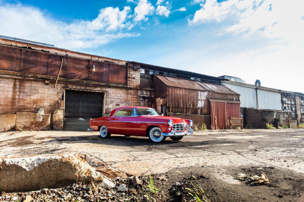 1955 Chrysler 300C Coupe Classic USA d 5616x3744-06 wallpaper
