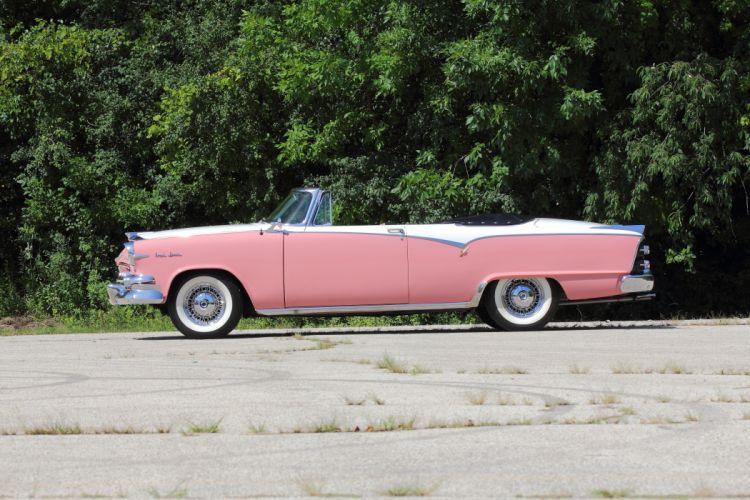 1955 Dodge Custom Royal Lancer Convertible Classic USA d 5184x3456-02 wallpaper