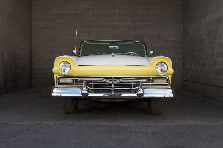 1957 Ford Fairlane 500 Sunliner Classic USA d 5130x3420-01 wallpaper