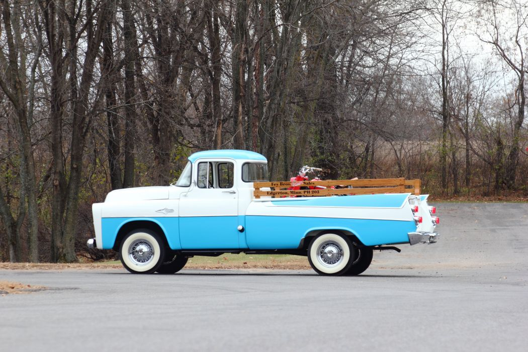 1957 Dodge Sweptline Pickup Classic USA d 5184x3456-02 wallpaper