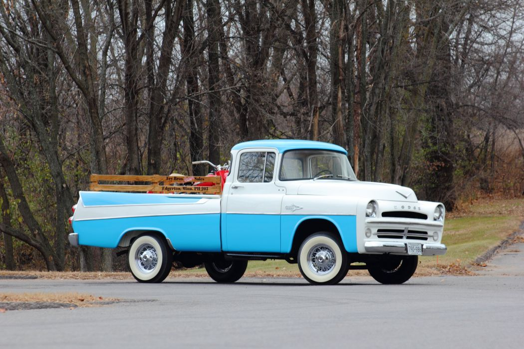 1957 Dodge Sweptline Pickup Classic USA d 5184x3456-01 wallpaper