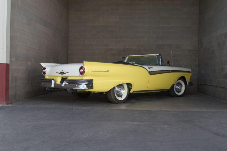 1957 Ford Fairlane 500 Sunliner Classic USA d 5184x3456-04 wallpaper