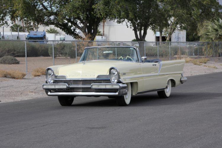 1957 Lincoln Premiere Convertible Classic USA d 5184x3456-01 wallpaper