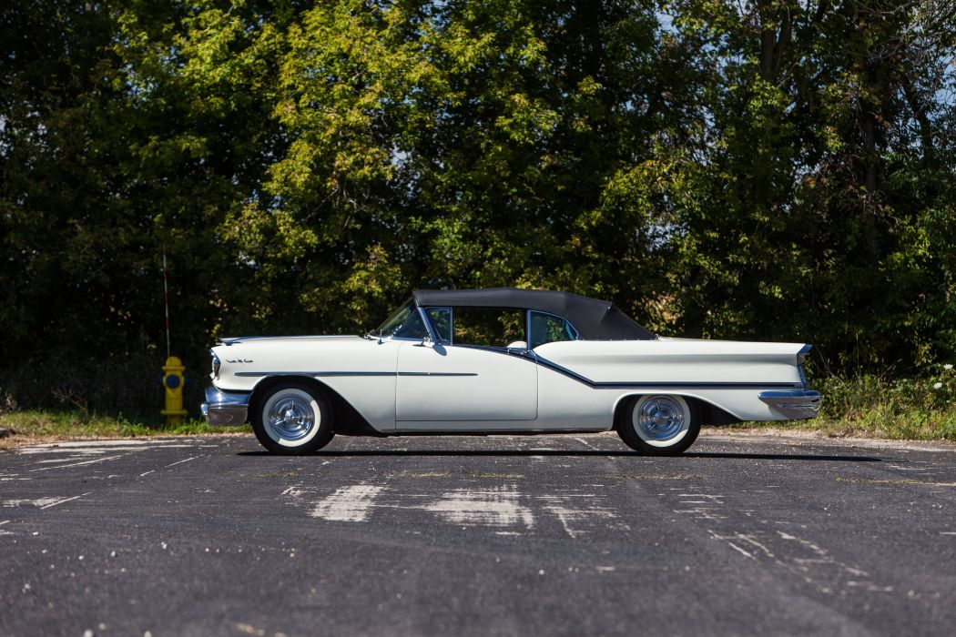 1957 Oldsmobile 98 Convertible Classic USA d 5507x3705-03 wallpaper