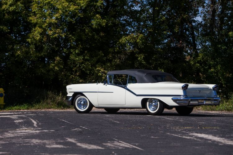 1957 Oldsmobile 98 Convertible Classic USA d 5616x3744-04 wallpaper