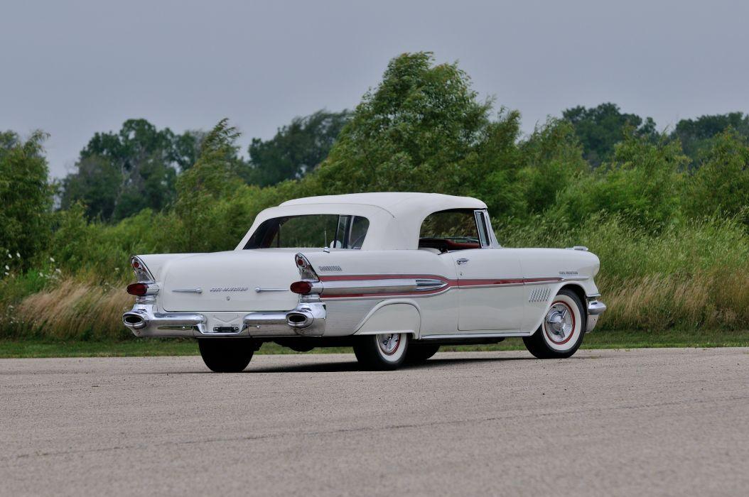 1957 Pontiac Bonneville Convertible Classic USA d 4288x2848-16 wallpaper