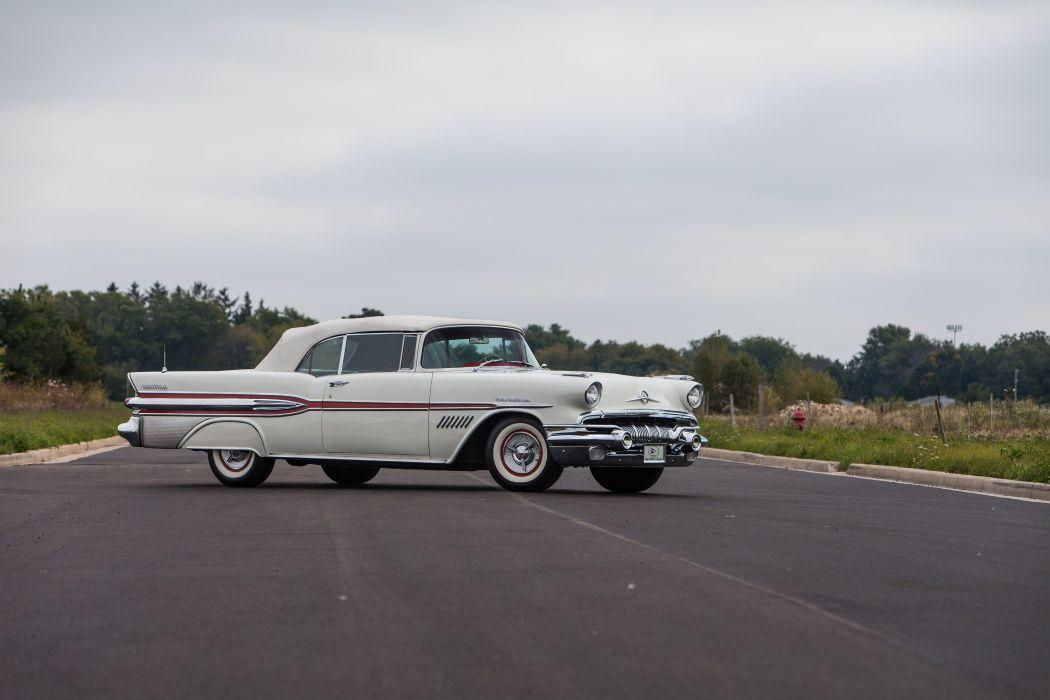 1957 Pontiac Bonneville Convertible Classic USA d 5616x3744-11 wallpaper