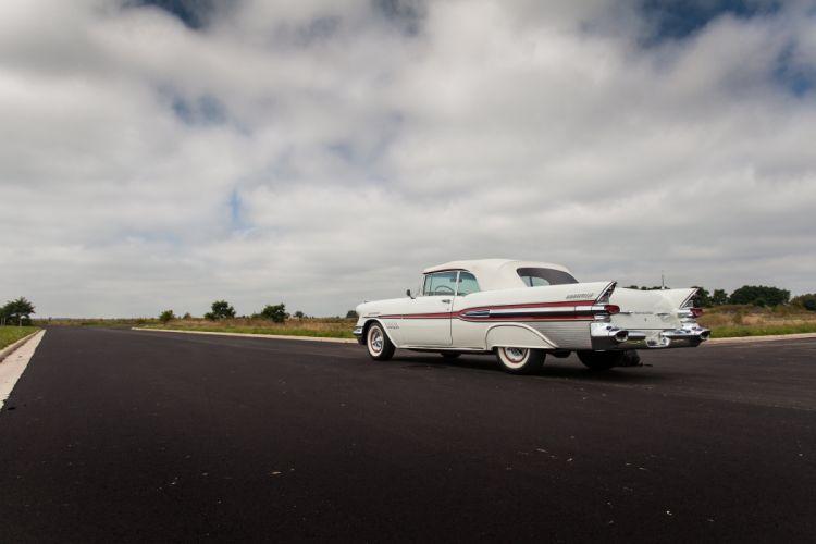 1957 Pontiac Bonneville Convertible Classic USA d 5616x3744-12 wallpaper