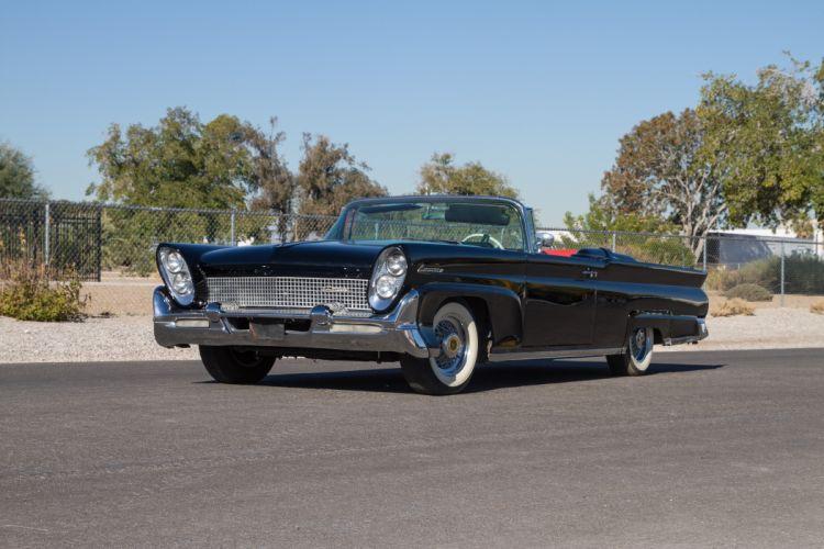 1958 Lincoln Continental Convertible Classic USA d 5184x3456-01 wallpaper