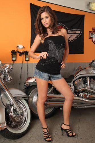 WOMEN AND MACHINES - Mila Kunis celebrity sensuality girl brunette legs motorcycles wallpaper