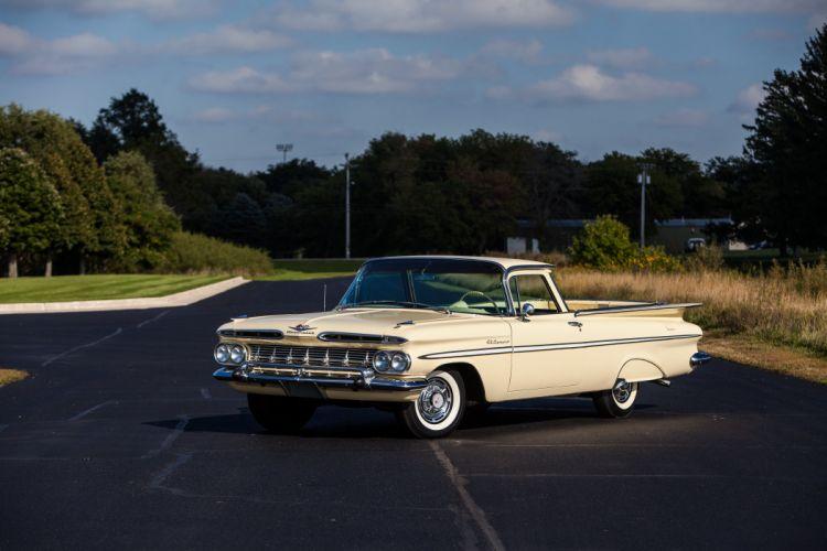 1959 Chevrolet Elcamino Pickup Classic USA d 5616x3744-01 wallpaper