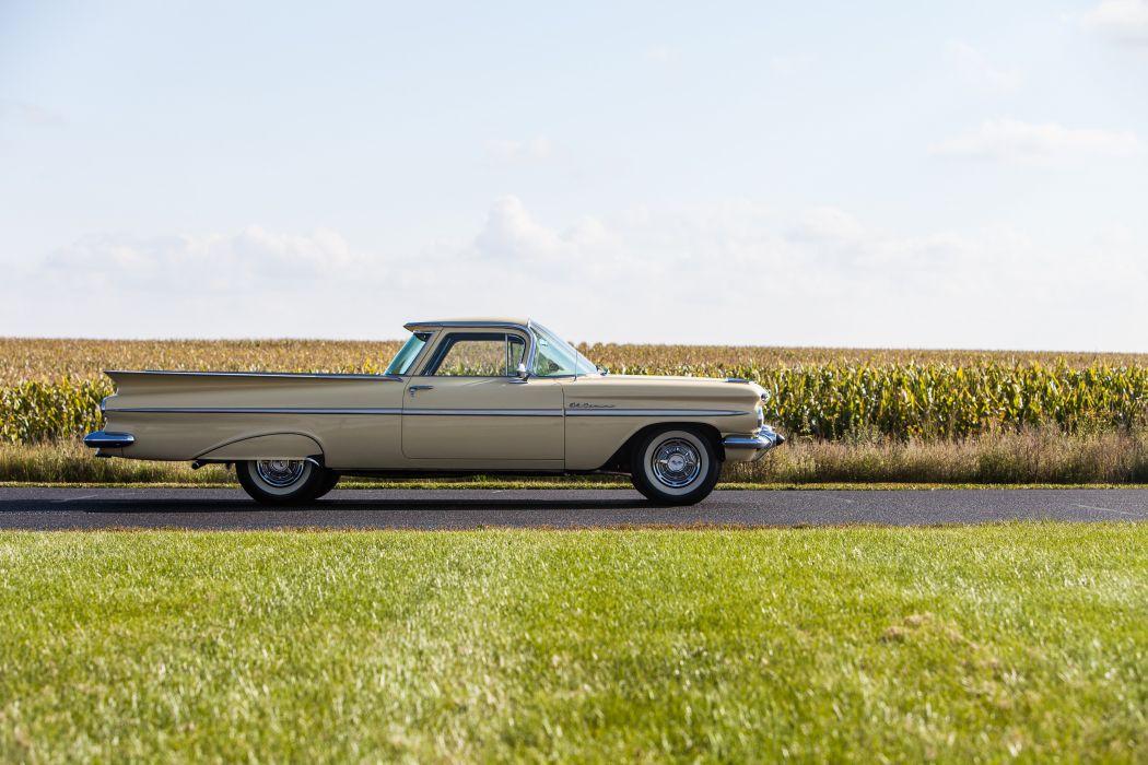 1959 Chevrolet Elcamino Pickup Classic USA d 5616x3744-05 wallpaper