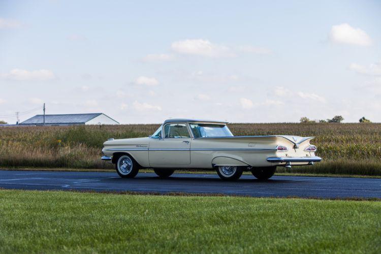 1959 Chevrolet Elcamino Pickup Classic USA d 5616x3744-09 wallpaper