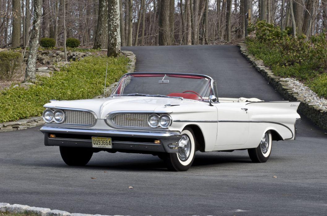 1959 Pontiac Catalina Convertible Classic USA d 6160x4080-01 wallpaper