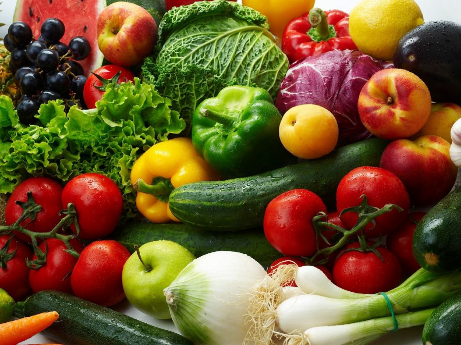 verduras cebollas pimientos tomates pepipnos esarolas wallpaper