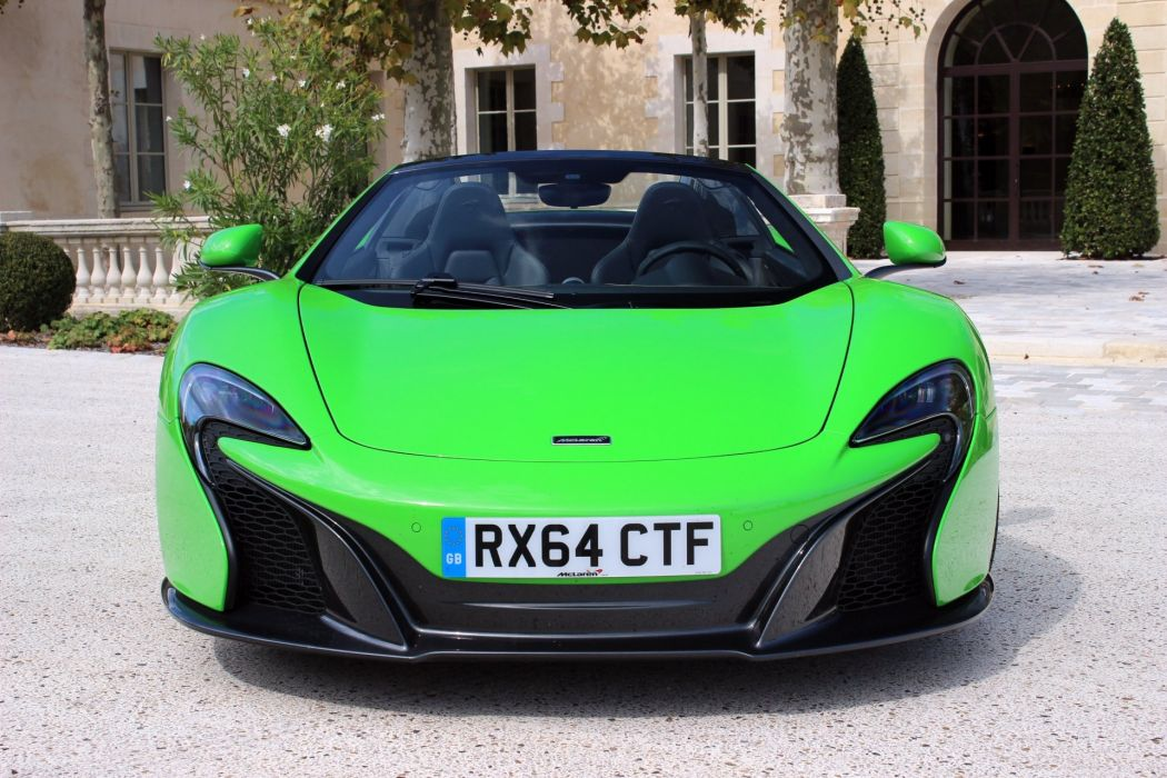 McLaren 650 S spider cars 2015 wallpaper