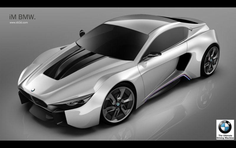 2015 BMW i M Concept Design cars wallpaper